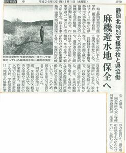 静岡新聞1月1日